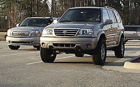 OME XL7 Lift Kit (Components 2007+)